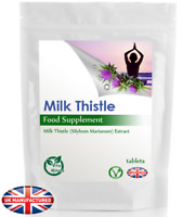 Milk Thistle (30/60/90/120/180 Tablets) Liver Detox, Gall Bladder Function, UK