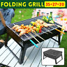BBQ Barbecue Grill Folding Portable Charcoal Stove Camping Garden Outdoor Party