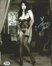 Tera Patrick Signed 8x10 Photo PSA/DNA COA Picture Autograph Penthouse Hustler E