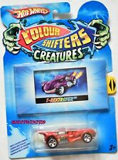 HOT WHEELS COLOR SHIFTERS CREATURES T-REXTROYER W+