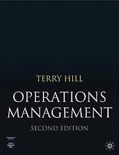 Operations Management, Terry Hill, New