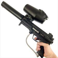 Tippmann A-5 Paintball Gun Rifle Flatline Sniper Barrel Marker Black Rare Round
