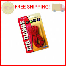 Alliance Rubber Big Rubber Bands 12 Pack 7 Inch X 18 Inch Red 00700