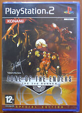 Anubis, Zone of The Enders: The 2nd Second Runner, ZOE 2, PS2, 1ª Edición, NUEVO