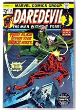 Daredevil #116 Two Flew over the Owl's Nest! Black Widow! Marvel Comic Book ~ Vf