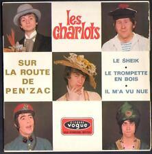 """LES CHARLOTS EP 45T Biem / Vogue EPL 8626 """"Sur la route de Pen'zac"""""""