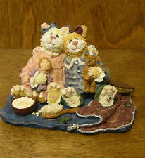 Boyds Purrstone #371011 CATARINA & SASSY...PURRFECT FRIENDS, 1st Ed MIB, CATS