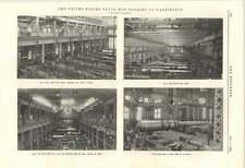 1895 United States Naval Gun Factory Washington Various Shops