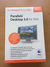 Parallels Desktop 3.0 for Mac (2007) Run Windows