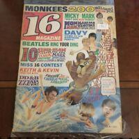 16 Magazine Oct.1967 Beatles, Monkees, Davy's party