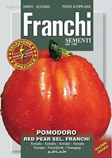 20 Semi/Seeds POMODORO Red Pear Sel. Franchi
