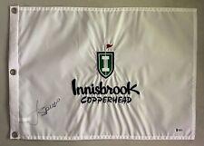Jordan Spieth Signed Innisbrook Copperhead Golf Pin Flag AUTO BAS Sticker ONLY