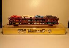 Vintage AHM MINITRAINS - Santa Fe Auto Transporter - N Scale - NEW IN BOX