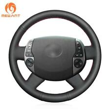 Durable Black Artificial Leather Steering Wheel Cover for Toyota Prius 2005-2008