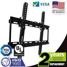 SLIM TILT TV WALL BRACKET MOUNT FOR PLASMA LED LCD 26 32 34 37 40 42 46 48 50 55