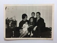 Vintage BW Real Photograph #AH: Family: 1965: Those Eyes!