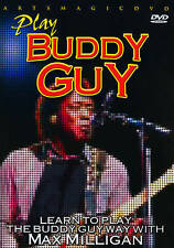 Buddy Guy DVD Instructional Learn to play the Buddy Guy way with Max Milligan