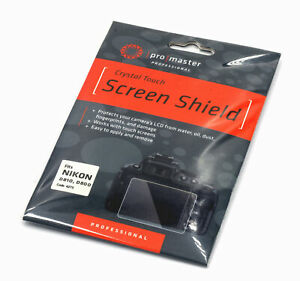 Promaster Crystal Touch Screen Shield #4275 for Nikon D810 D800 D800E