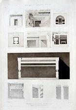 23 ~ Greece MACEDONIA TOMB Alexander Great Vergina ~ 1905 Architecture Art Print