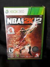 Brand New Sealed NBA 2K12 JORDAN BASKETBALL (Microsoft Xbox 360, 2011)