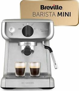 Breville Mini VCF125X Barista Machine Of Espresso Coffee Total Automatic 15 BAR