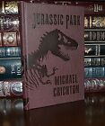 New Jurassic Park by Michael Crichton Deluxe Special Edition Hardcover Gift
