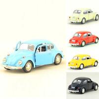 VW Beetle 1967 1:36 Scale Model Car Metal Diecast Gift Toy Vehicle Pull Back Kid