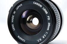 Canon FD 28mm F2.8 S.C. Lens SN12937