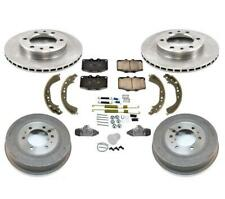 Rotors Drums Pads Shoes Spring Kit Wheel Cylinders for Toyota Landcruiser 81-89