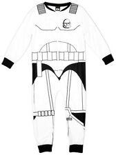 Pyjamas blancs en polyester pour garçon de 2 à 16 ans