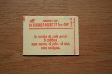 Carnet Sabine 1973 c1a cf 8 numéroté neuf** et fermé