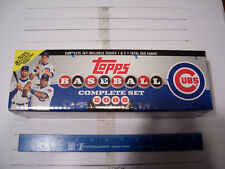 2008 Topps MLB Complete Factory Set - Chicago Cubs