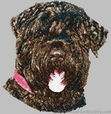 Embroidered Sweatshirt - Black Russian Terrier Dle1485 Sizes S - Xxl