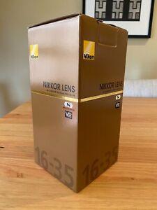 Nikon AF-S NIKKOR 16-35mm f/4G ED VR Lens in used but excellent condition