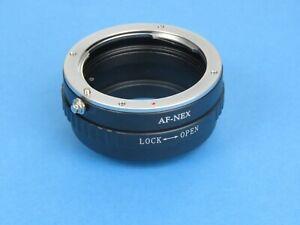 Sony Minolta Alpha Lens Adapter AF-NEX for Sony a6000 a6100 a6300 a6400 a6500