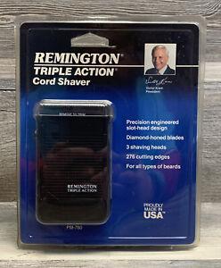 Vintage 1989 Remington Triple Action Cord Shaver Model PM-760 BP - SEALED