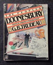 1981 The People's Doonesbury Notes from Underfoot by G. B. Trudeau Sc Vg 4.0