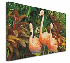 More details for pink flamingo print x-large 30