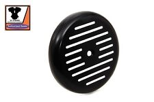 Black Ball Milled Air Cleaner Cover EVO TC Softail Dyna Touring Chopper Slotted