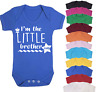 I'm the Little Brother Baby Vest Babygrow Bodysuit Gifts Baby Shower Gifts