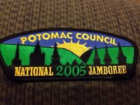 MINT 2005 JSP Potomac Council Black Border