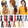 Ribbon Hair Band Hair Bow Ties Hair Rope Floral Bow Scrunchie Ponytail Scarf
