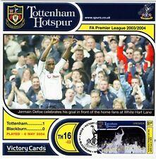 Spurs 2003-04 Blackburn (Jermain Defoe) Football Stamp Victory Card #316
