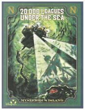 """TOKYO DISNEY POSTER - 20,000 LEAGUES UNDER THE SEA MYSTERIOUS ISLAND 8.5"""" x 11"""""""