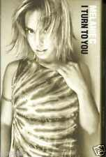 MELANIE C - I TURN TO YOU 2000 UK CASSINGLE CARD SLEEVE SLIP-CASE RARE CONDITION