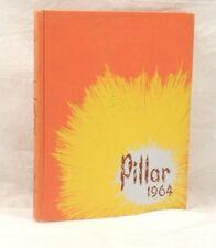 THE PILLAR 1964 YEARBOOK, GEORGE PEABODY COLLEGE FOR TEACHERS, NASHVILLE, TN