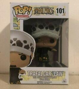 One Piece Funko Pop -Trafalgar Law (#101) Vaulted - New In Box