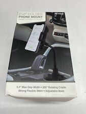 New listing Weather- Universal Cup Holder Car Mount Cradle for Cell Phone Gps Adjust-Tech