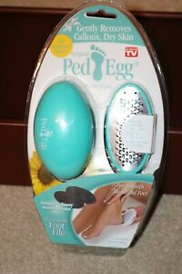 As Seen On TV Original Ped Egg Professional Foot File with Finishing Pads