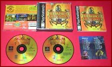 Oddworld Abe's Exoddus for the Sony Playstation 1 PS1 Complete!